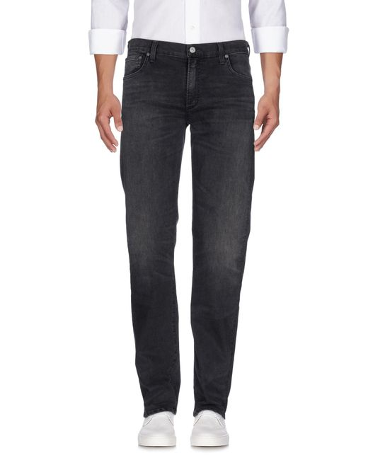 Citizens of Humanity - Gray Denim Trousers for Men - Lyst