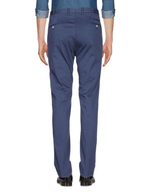 PT01 Pantalon homme de coloris bleu bnMQt