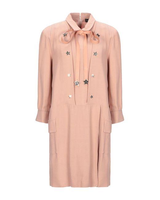 Robe courte Elisabetta Franchi en coloris Pink