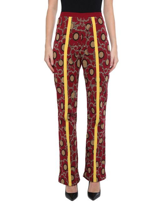 Marni Red Casual Pants