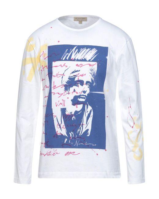 Camiseta Burberry de hombre de color White