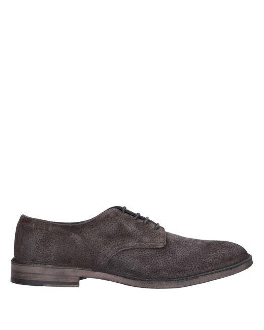 Primabase Zapatos de cordones de hombre de color marrón