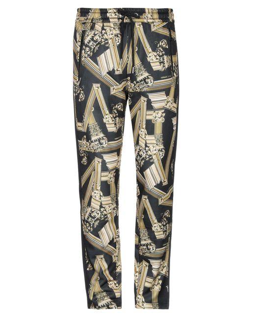 Pantalone di Versace Jeans in Black da Uomo