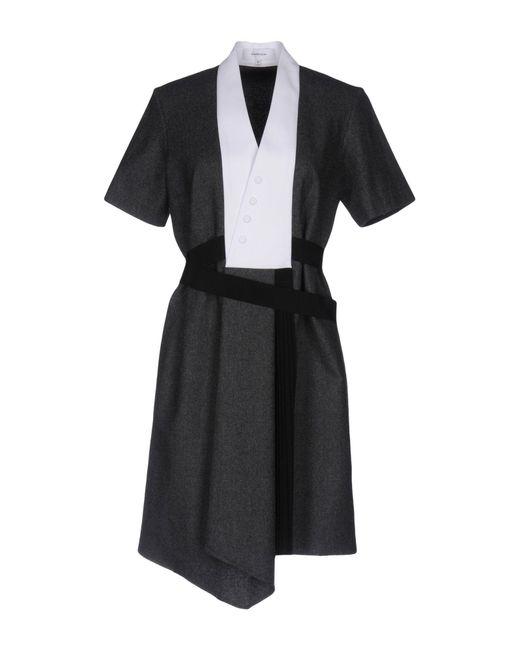 Carven Gray Short Dress