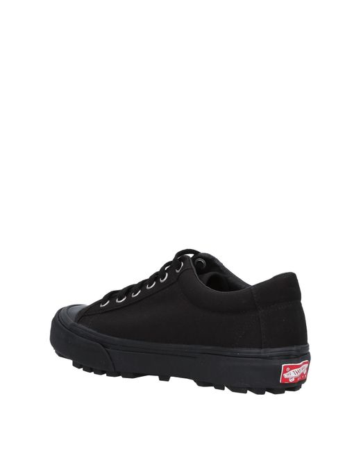 Vans Black Low Sneakers & Tennisschuhe