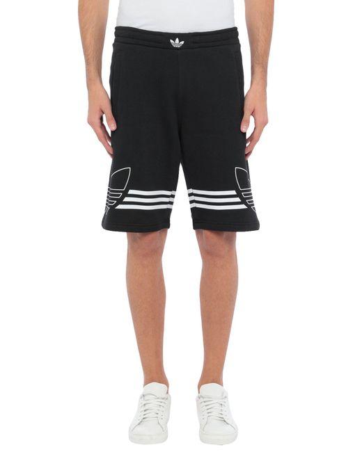 Adidas Originals Black Bermuda for men