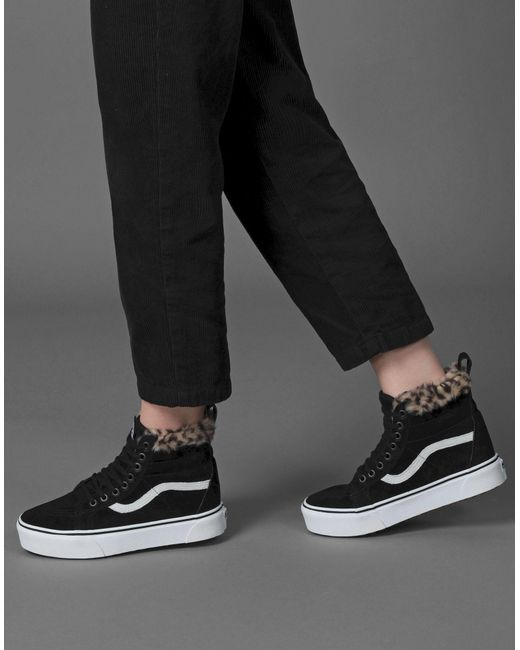 Sneakers & Tennis montantes Vans en coloris Black
