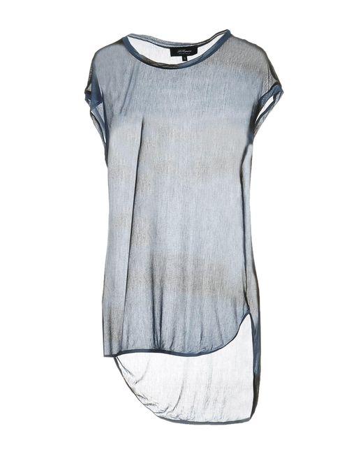 Les Copains - Blue T-shirts - Lyst