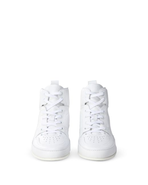 Moschino - White High-tops & Sneakers for Men - Lyst