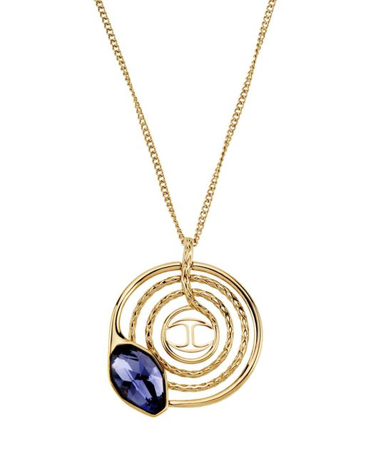 Just Cavalli - Blue Necklace - Lyst