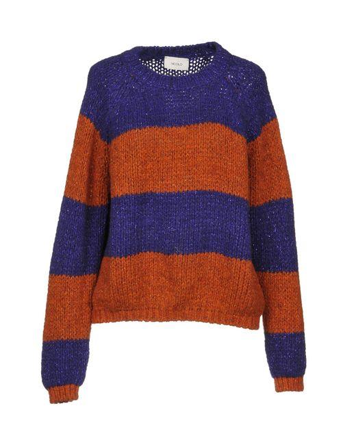 ViCOLO - Purple Sweaters - Lyst