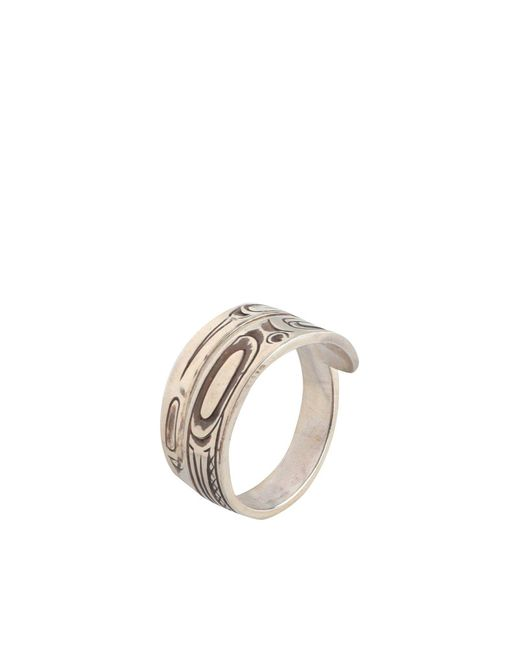 Maple Ring in Metallic für Herren