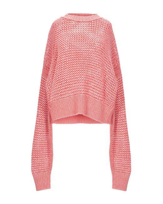 Pullover Jil Sander de color Pink