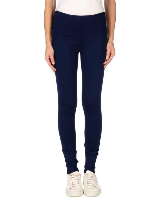 Silvian Heach Blue Casual Trouser