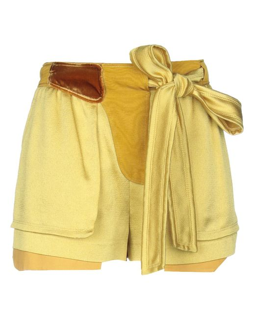 Valentino Yellow Shorts