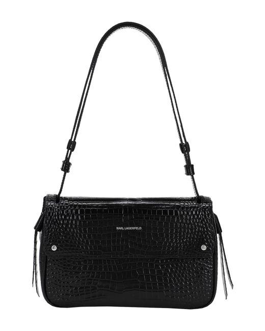 Karl Lagerfeld Black Handbag