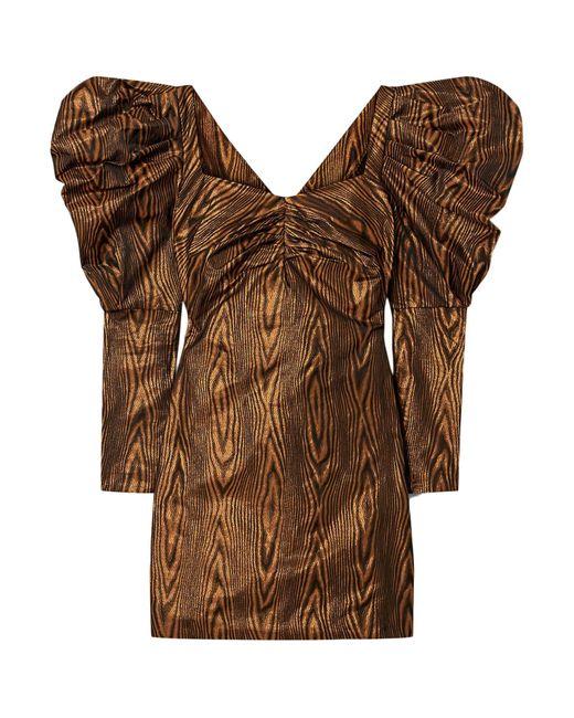 Robe courte House of Holland en coloris Brown
