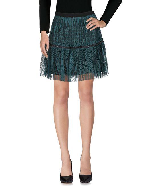Liu Jo - Green Knee Length Skirt - Lyst