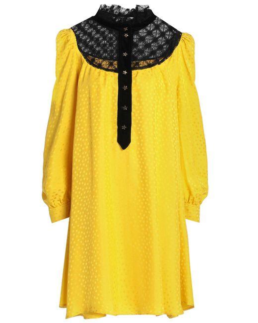 Vestito corto di Philosophy Di Lorenzo Serafini in Yellow