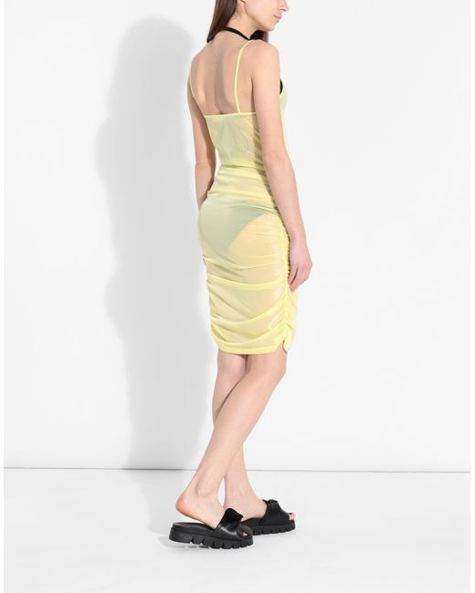 Robe aux genoux Pierre Darre' en coloris Yellow