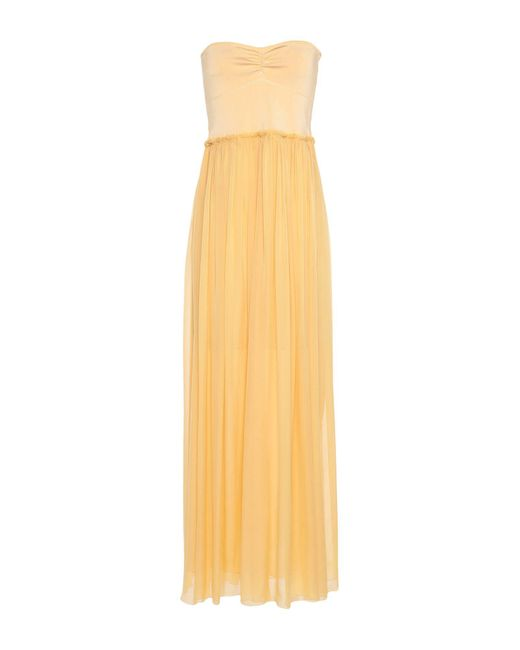 Robe longue Forte Forte en coloris Yellow