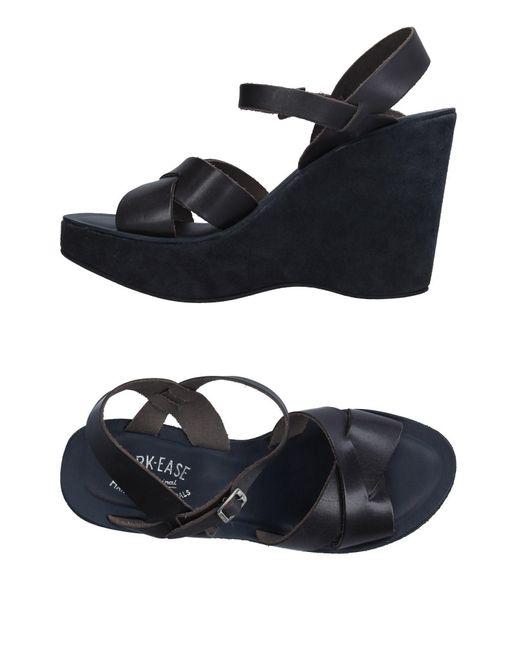 Kork-Ease Blue Sandals
