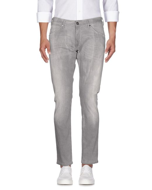 Wrangler - Gray Denim Pants for Men - Lyst