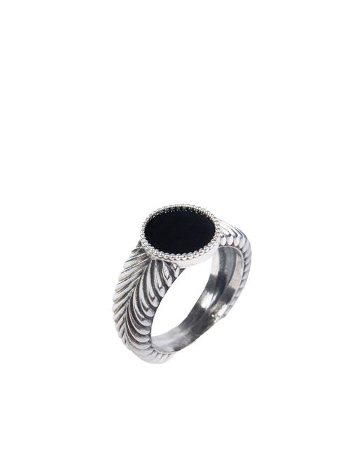 Emanuele Bicocchi - Black Ring for Men - Lyst
