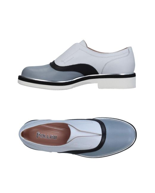 Pollini - Gray Loafer - Lyst