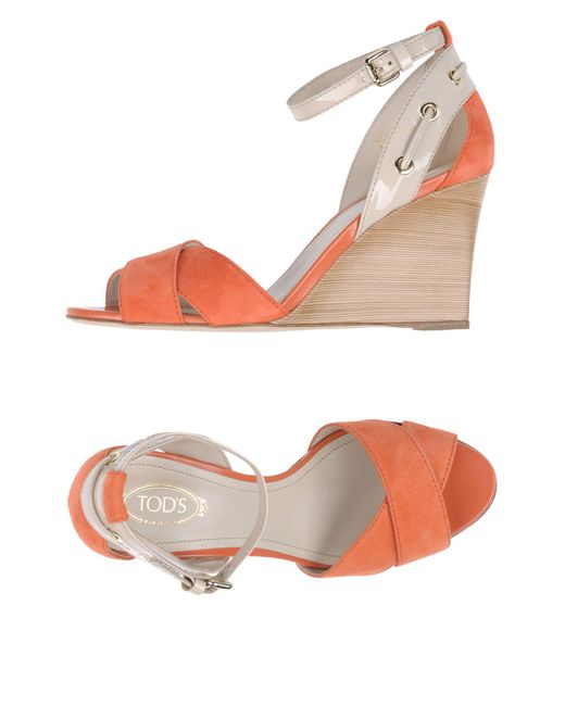 Tod's - Multicolor Sandals - Lyst