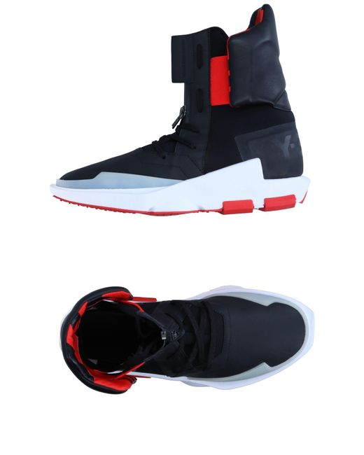 Y-3 | Black High-tops & Sneakers for Men | Lyst