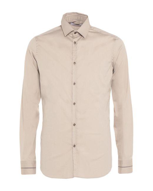 Camicia di Aglini in Gray da Uomo