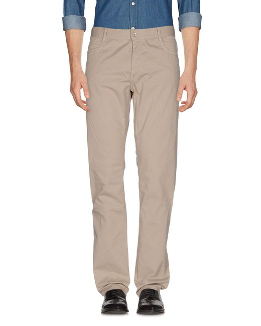 Brooksfield Gray Casual Pants for men