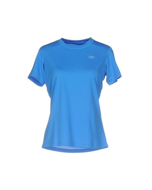Helly Hansen - Blue T-shirt - Lyst