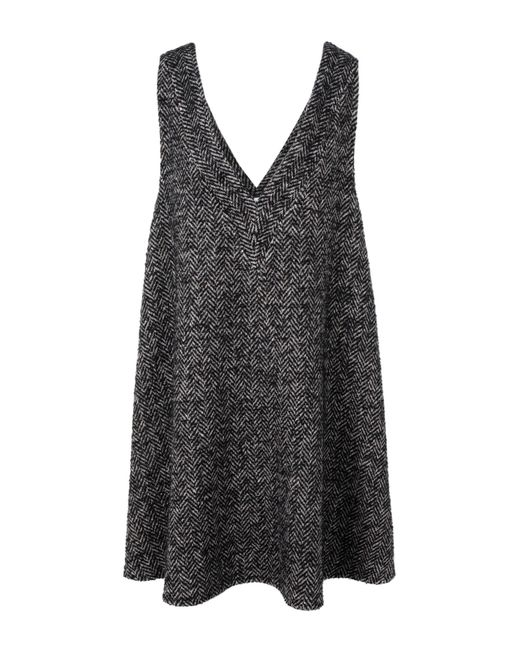 Au Jour Le Jour - Gray Knee-length Dress - Lyst