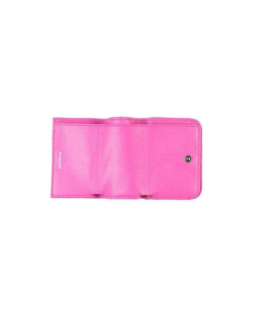 Portafogli di Balenciaga in Pink