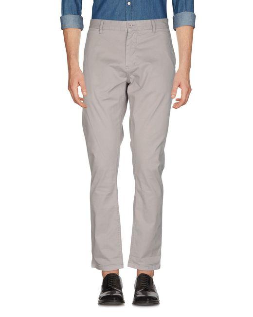Pantalones Minimum de hombre de color Gray