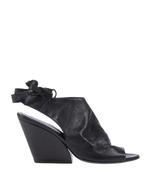 Strategia Black Sandals