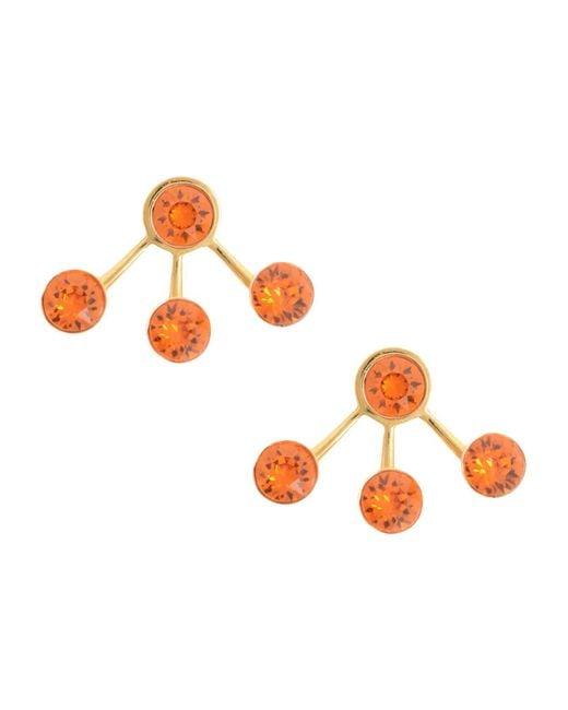 Ca&Lou - Orange Earrings - Lyst