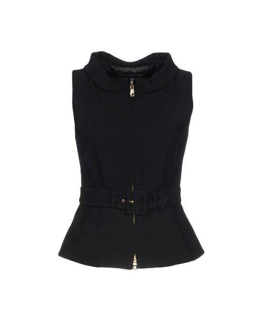 Boutique Moschino - Black Tops - Lyst