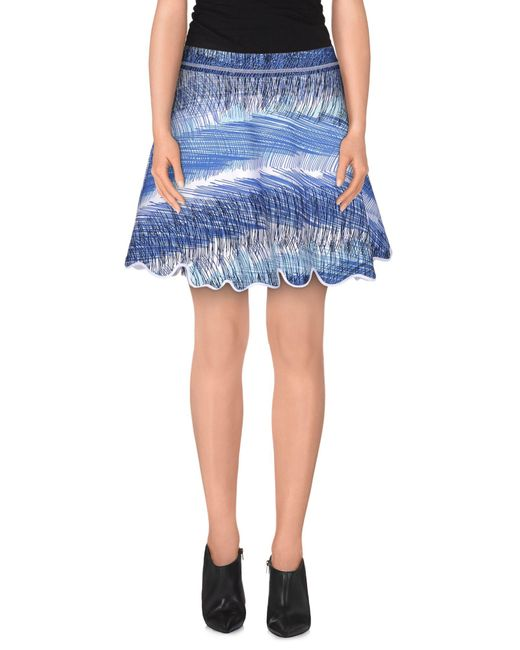 KENZO Multicolor Mini Skirt
