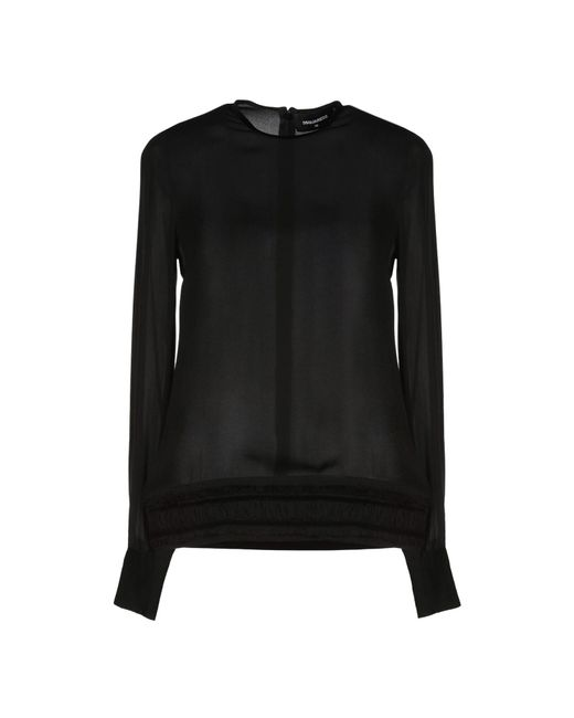 Blouse DSquared² en coloris Black