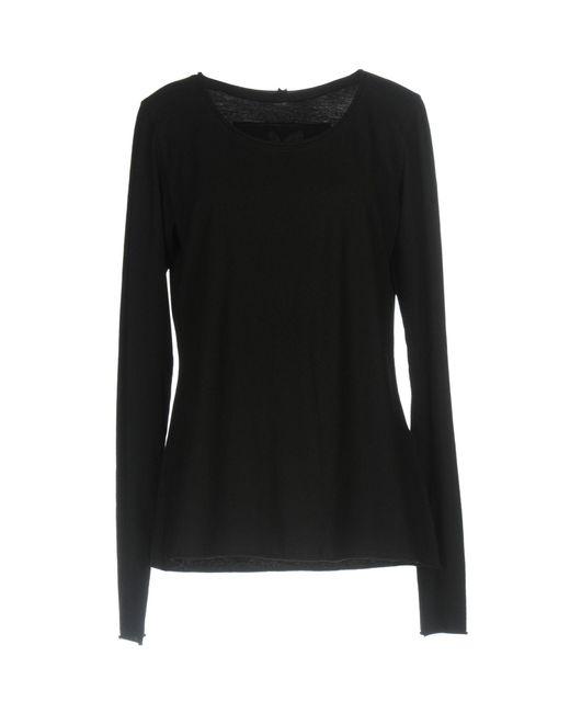 Ralph Lauren Black Label - Black T-shirt - Lyst