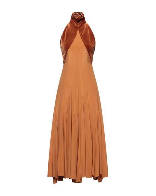 Haider Ackermann Brown 3/4 Length Dress