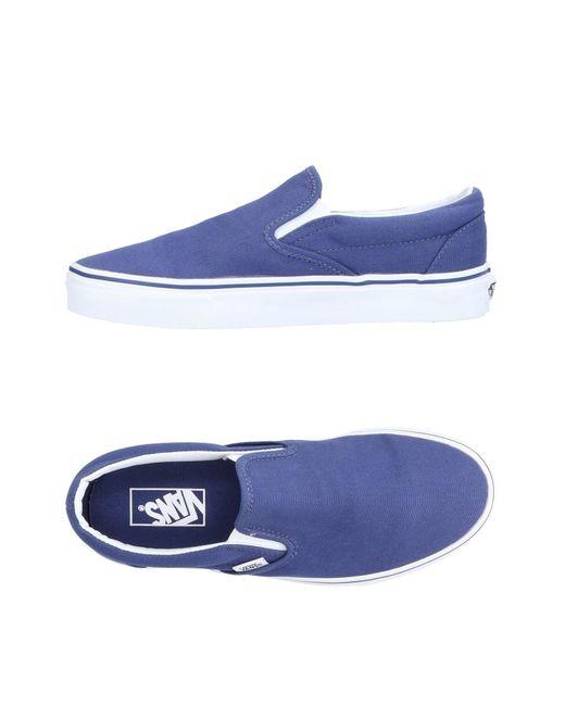 Vans Sneakers & Deportivas de hombre de color azul