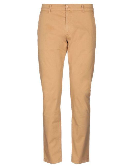 Grey Daniele Alessandrini Natural Casual Trouser for men