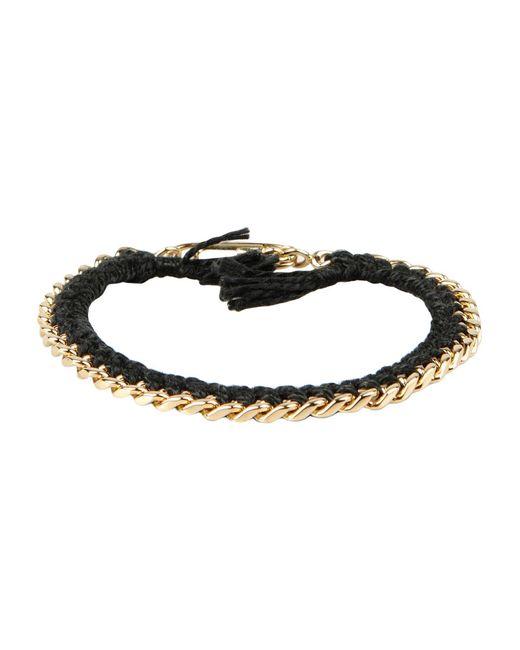 Aurelie Bidermann - Black Bracelet - Lyst
