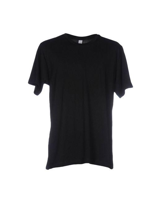 Alternative Apparel Black T-shirt for men