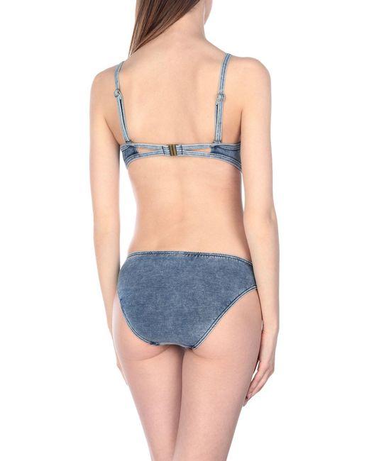 Seafolly Women's Blue Bikini