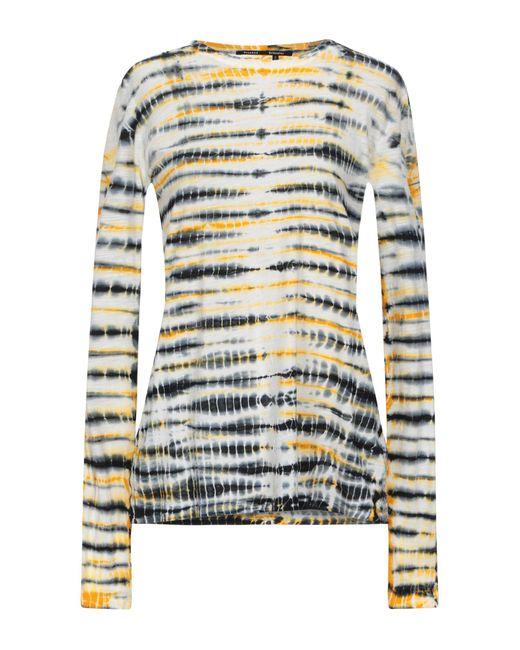 Proenza Schouler Camiseta de mujer de color amarillo bGmyN